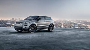 Fotos Land Rover Crossover Metallisch Graue Evoque 2018 automobil