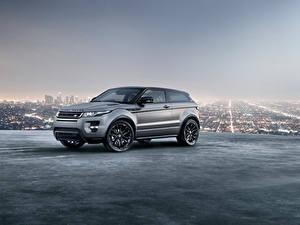 Fotos Land Rover Crossover Metallisch Graue Evoque 2018 automobil