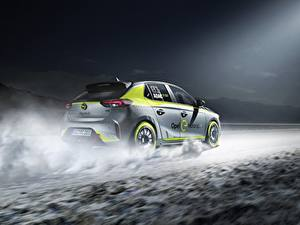 Bilder Opel Corsa 2020 electric rally car