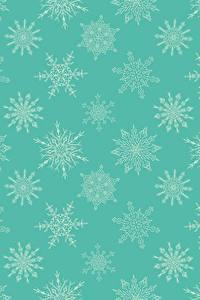 Bilder Neujahr Textur Schneeflocken