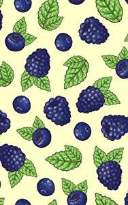 Bilder Textur Beere Brombeeren Blatt das Essen