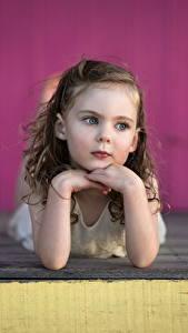 Fotos Kleine Mädchen Nett Hand