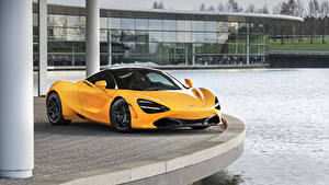 Bilder McLaren Metallisch Gelb 2019 MSO 720S Autos
