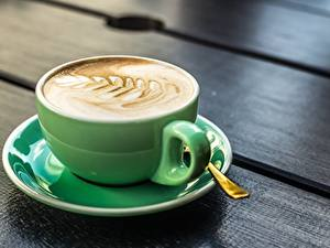 Fotos Kaffee Cappuccino Tasse Untertasse