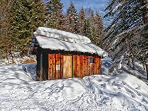 Hintergrundbilder Gebirge Wald Frankreich Schnee Bäume Massif des Bauges, Savoie Natur