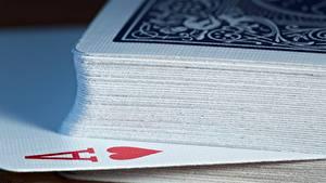 Bilder Makro Spielkarte Nahaufnahme Ass Spielkarte