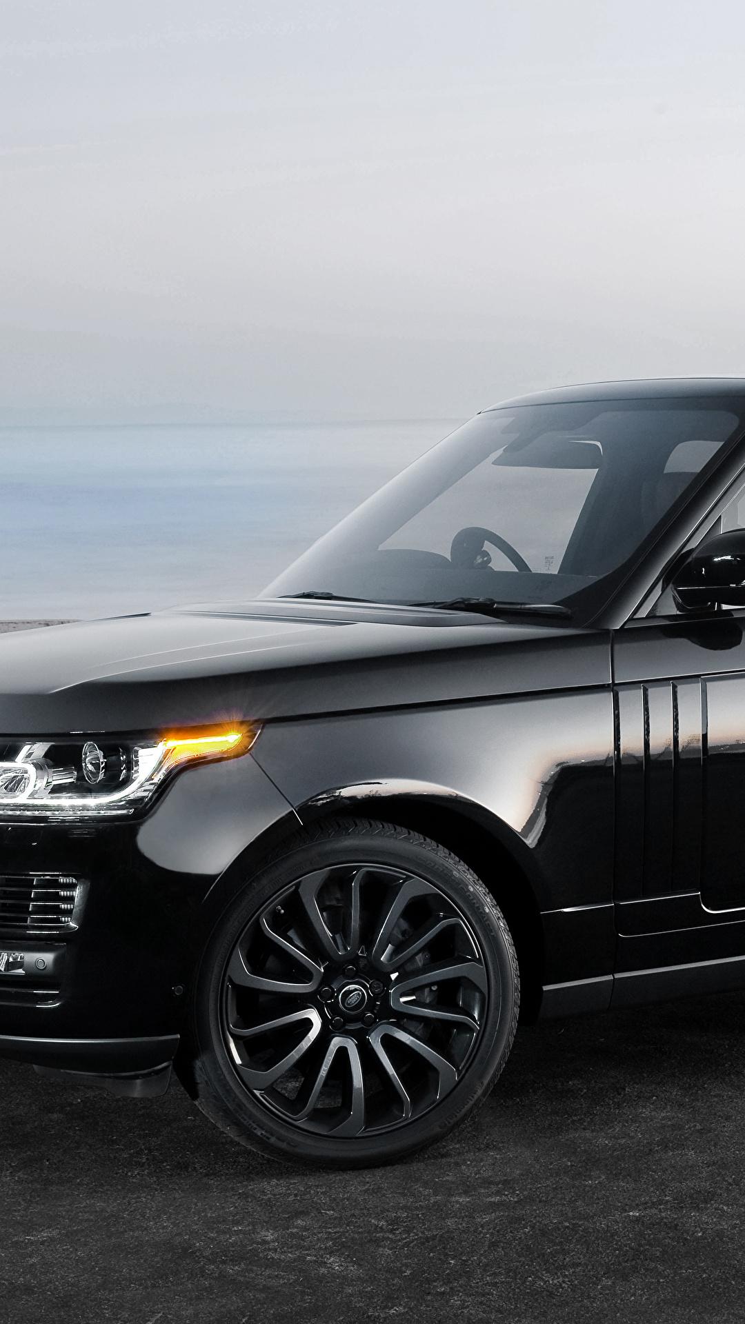 Photo Land Rover Vogue Black Automobile 1080x1920
