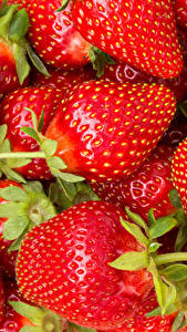 Hintergrundbilder Erdbeeren Großansicht Viel das Essen