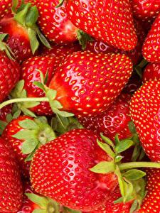 Hintergrundbilder Erdbeeren Großansicht Viel