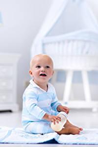 Fotos Säugling Sitzt Kinder