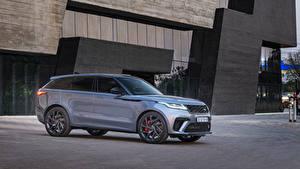 Bilder Land Rover Crossover Grau Metallisch 2019-20 Velar SVAutobiography Dynamic Edition Autos