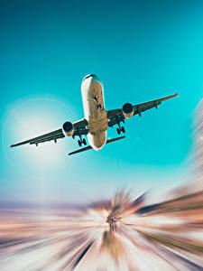 Hintergrundbilder Flugzeuge Verkehrsflugzeug Flug Starten Luftfahrt