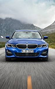 Pictures BMW Front Blue Motion 3-series M Sport G20