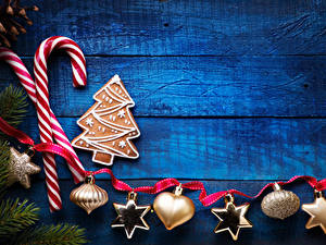 Hintergrundbilder Neujahr Süßigkeiten Kekse Bretter Design Band Schneeflocken das Essen