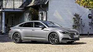 Bilder Volkswagen Grau Metallisch Arteon, 2018, Elegance Autos
