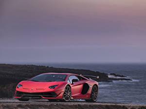 Bilder Lamborghini Rot 2018 Aventador SVJ Worldwide