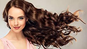 Hintergrundbilder Braune Haare Braunhaarige Haar Blick Gesicht Frisur Mädchens