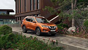 Bilder Nissan Orange Metallisch 2018-19 X-Trail CIS-spec Autos