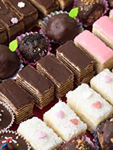 Fotos Süßware Törtchen Bonbon Schokolade