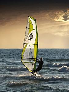 Fotos Meer Mann Surfen Sport
