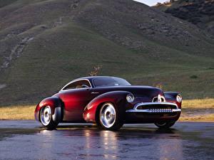 Hintergrundbilder Holden Bordeauxrot Metallisch Efijy Concept, 2005 automobil