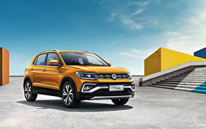 Images Volkswagen Yellow 2019 T-Cross 280 TSI Cars