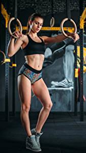 Bilder Fitness Bein Mädchens Sport