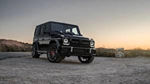 Images G-Wagen Mercedes-Benz Black AMG G63 W463