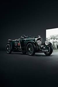 Fotos Bentley Retro Grün Blower automobil