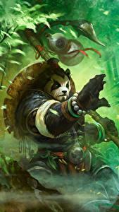 Hintergrundbilder WoW Großer Panda Fantasy