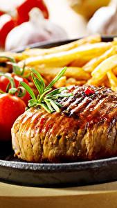 Hintergrundbilder Fleischwaren Pommes frites Tomate