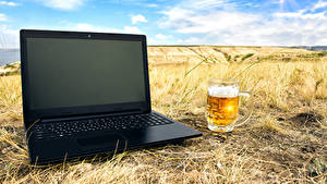 Wallpaper Beer Fields Laptops Mug