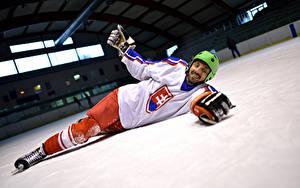 Images Hockey Man Uniform Helmet