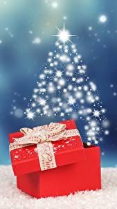 Fotos Neujahr Geschenke Schleife