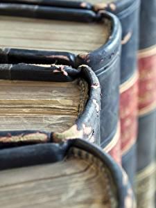 Bilder Makro Großansicht Buch