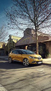 Pictures Renault Yellow Metallic 2016 Scenic automobile