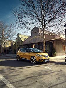Fotos Renault Gelb Metallisch 2016 Scenic auto