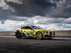 Fotos Bentley Wolke Seitlich Continental GT Pikes Peak, 2019 Autos