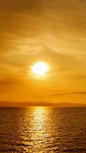 Image Sea Sunrises and sunsets Sky Nature
