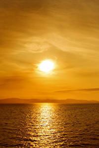 Fotos Meer Sonnenaufgänge und Sonnenuntergänge Himmel Natur