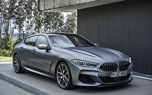 Фотография BMW Купе Серые 2019 M850i xDrive Gran Coupé Worldwide Автомобили