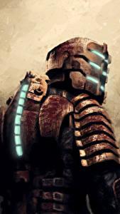 Hintergrundbilder Dead Space Hinten Rüstung Helm Isaac Clarke Spiele Fantasy