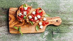 Hintergrundbilder Sandwich Butterbrot Brot Käse Tomate Schneidebrett