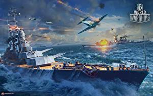 Bilder World Of Warship Schiffe Russischer Cruiser 'Moscow' Spiele Heer