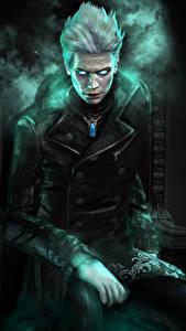 Fotos Devil May Cry Mann Sitzt Vergil Spiele Fantasy