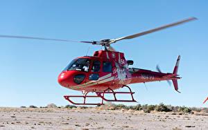Hintergrundbilder Hubschrauber Rot