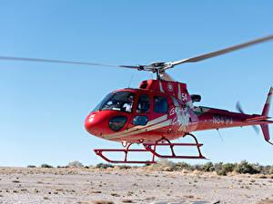 Hintergrundbilder Hubschrauber Rot Luftfahrt