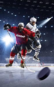 Hintergrundbilder Hockey Mann Kunsteisbahn Lichtstrahl Uniform Sport