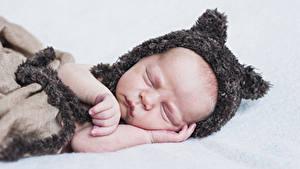 Bilder Baby Schlaf Mütze Hand Kinder