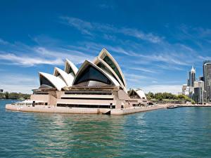 Fotos Australien Gebäude Sydney Bucht Design Städte